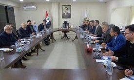 مباحثات سورية إيرانية
