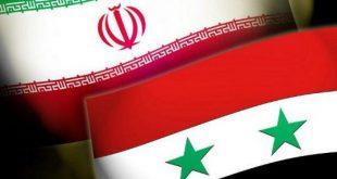 تعاون سوري إيراني